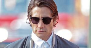 Exclusive - A Slimmed-Down Jake Gyllenhaal Begins Filming 'Nightcrawler'